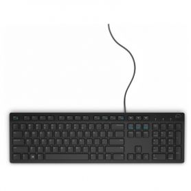 DELL Clavier KB216 AZERTY Noir (580-ADGU-1)