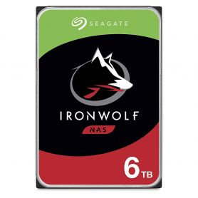 """ST6000VN0033 Seagate IronWolf NAS HDD 6To 3.5"""" SATA"""