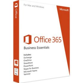 9F5-00003 Microsoft Office 365 Business Essentials (1 an / 1 Poste )