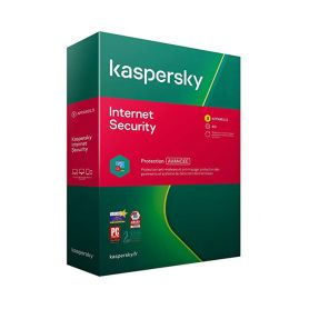Kaspersky  Maroc Internet Security 2021 3 Postes / 1 An