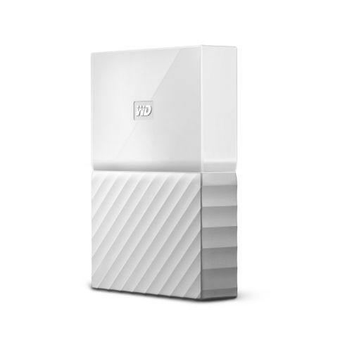 Disque dur externe Western Digital My Passport 1To Blanc - WDBYNN0010BWT