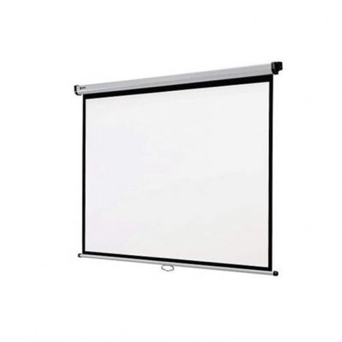 Ecran de projection Mural ORAY manual a ressort Sil 200 X 200 cm (MPP03B1200200)