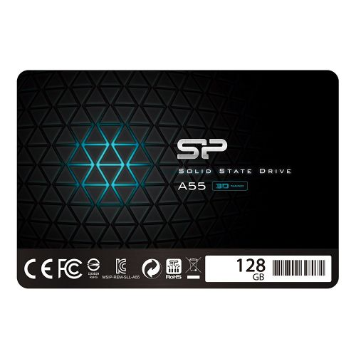 "Disque dur SSD 128GB Silicon Power A55 2.5"" (SP128GBSS3A55S25)"