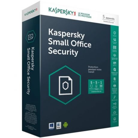 Antivirus Kaspersky Small Office Security v 6.0 pour 5Postes /1An (KL4535XBEFS-9MWCA)