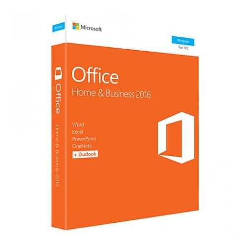 Microsoft Office Home and Business 2016 – Windows – Anglais – T5D-02717