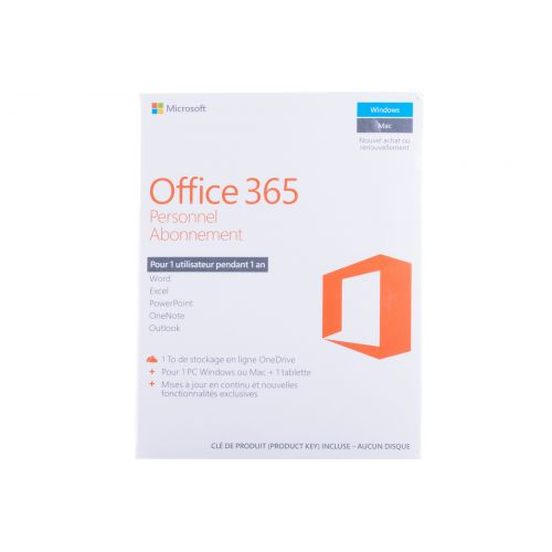 (QQ2-00890) Microsoft Office 365 Personal French - Africa Only
