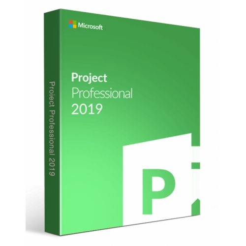 (H30-05743) Microsoft Project Pro 2019 French Africa - Caribbean