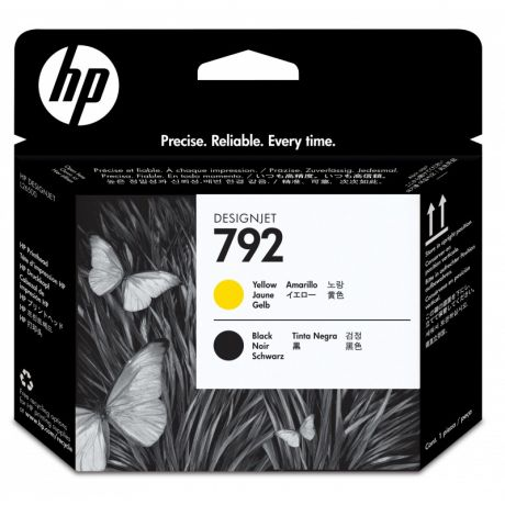 HP 792 Yellow/Black Latex Printhead