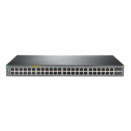 HPE Commutateur OfficeConnect 1920S 48G 4SFP PPoE+ 370W (JL386A)